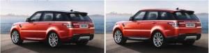 Крыша  Range Rover Sport