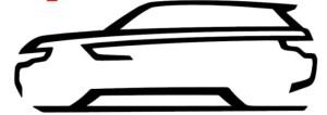Проекция зеркала Range Rover Sport