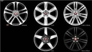 18 diski jaguar xe