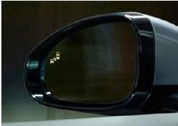 blind spot jaguar xe