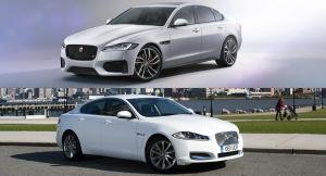 Новый и Прошлый Jaguar XF